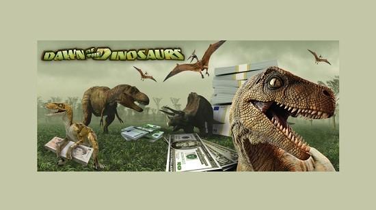 """888.com er lanserer nå spilleautomaten """"Dawn of the Dinosaurs"""""""