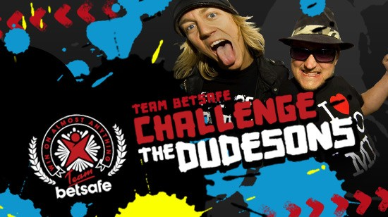 Team Betsafe utfordrer The Dudesons