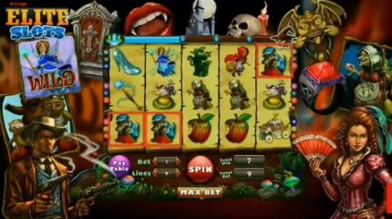 Facebookspillet Elite Slots fra Zynga ruler på nettet