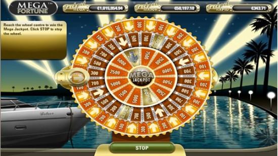 Mega Fortune-jackpot på € 17,8 mil. vunnet på Paf