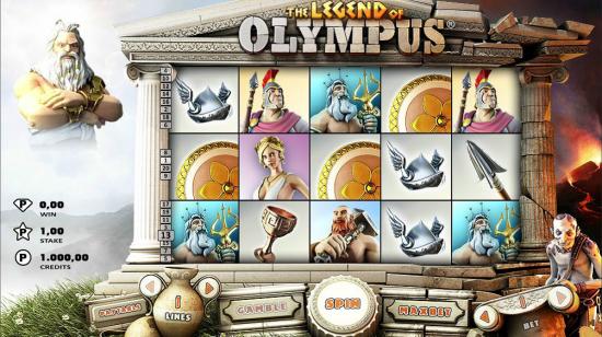 Legend of Olympus fra Rabcat