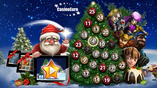 Klatring i juletreet på CasinoEuro