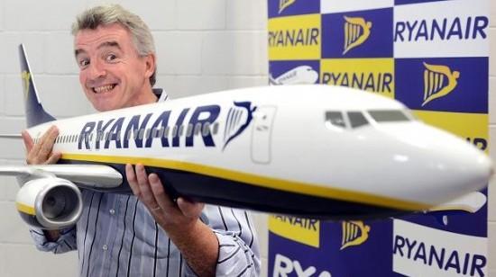 Ryanair tar steget inn i lotteriscenen