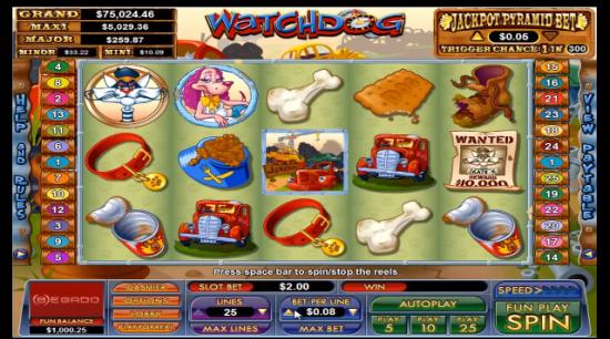 Video-spilleautomaten Watchdog gjør skrap om til rikdom