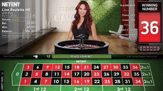 Nytt Live Casino hos ComeOn