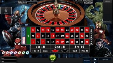 Playtech lanserer Marvel Roulette