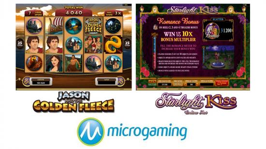 2 nye spill av Microgaming i februar 2013