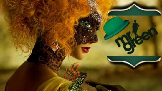 Velkommen til karneval på Mr Green