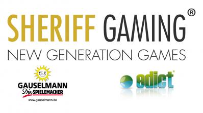Sheriff Gaming i samarbeid med Edict eGaming