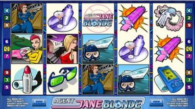 Microgaming lanserer Agent Jane Blonde på flerspiller-plattform