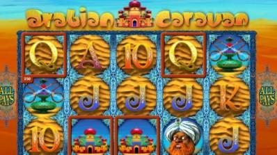Sjekk ut  videospilleautomaten Arabian Caravan fra Genesis Gaming!