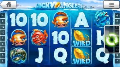 NetEnt lanserer Lucky Angler Touch™