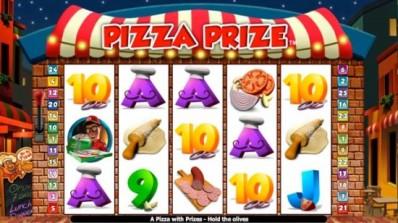 Pizza Prize nå live hos Vera & John
