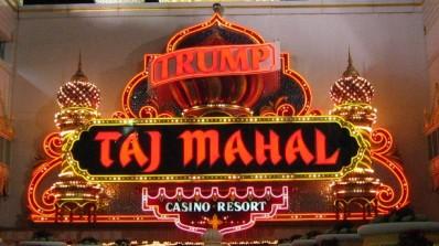 MMA-action på Trump Taj Mahal Casino Hotel i Atlantic City