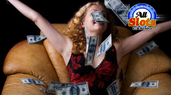 Dobbel vinner drar hjem $50k hos All Slots Casino