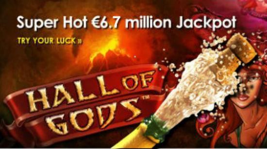 Spiller vant €6.7m på Hall of Gods