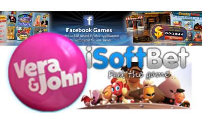Vera & John inngar en sosial gambling-avtale med iSoftBet