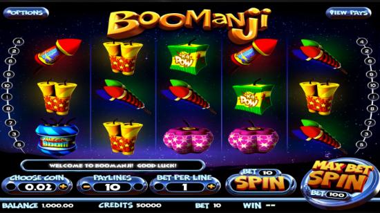 BetSoft treffer blink igjen med Boomanji