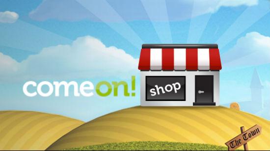 Slå ut håret i ComeOn-butikken