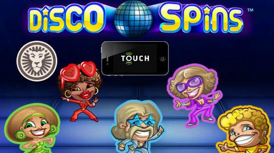 Spill Disco Spins på mobilen din hos LeoVegas