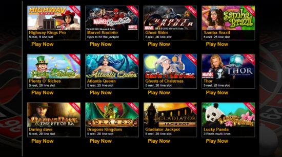 Eurogrand legger til 12 nye spill fra Playtech