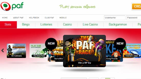 Ny iGaming-portefølje hos PAF