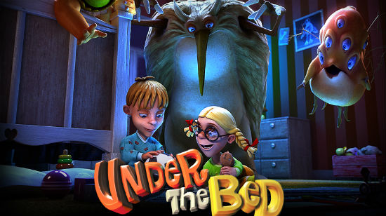 Under the Bed, et monstereventyr fra BetSoft