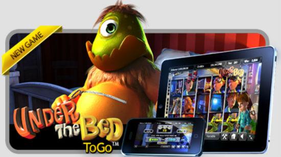 Under the Bed slippes på 7Red Mobile Casino