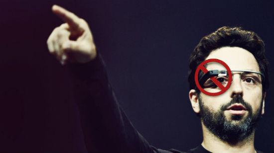 Casinoer forbyr Google-briller