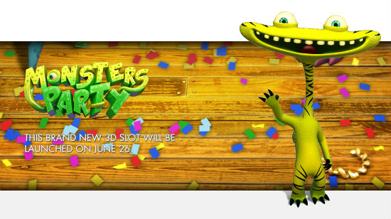 Sheriff Gaming lanserer Monsters Party