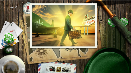 Verden rundt med Mr Green: 34 dager igjen
