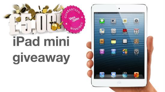 Vinnere tar hjem penger og iPad Mini fra Vera & John