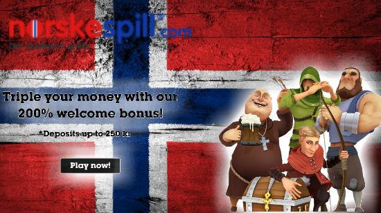 To velkomstbonuser og en haug med gratisspinns fra NorskeSpill