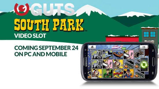 NetEnt slår seg løs: South Park online og på mobil hos Guts
