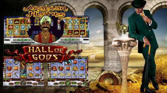 Mr Green med € 6 mill. i progressive jackpotter på Arabian Nights og Hall of Gods