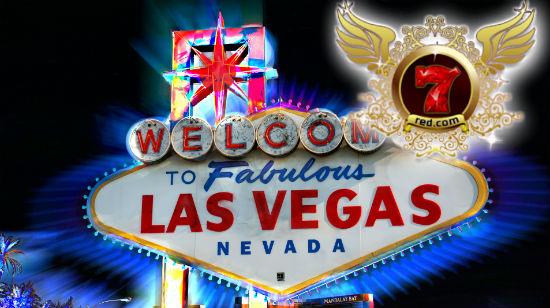 Fly til Vegas og nyt det gode live med 7Red Casino