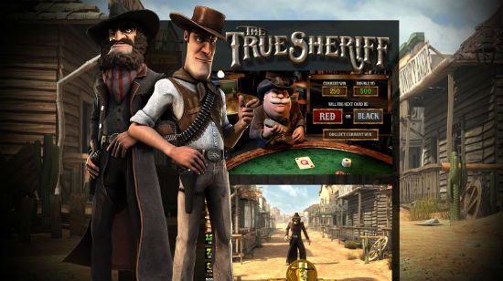 BetSofts nye The True Sheriff live hos 7Red