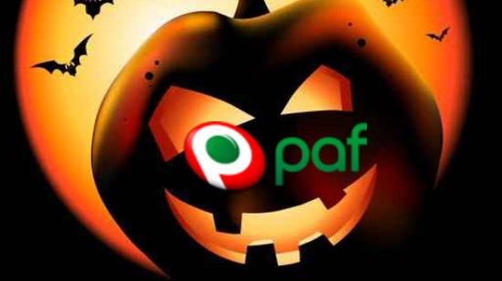 Paf sitt Halloween-knask består av penger, dingser og gratisspinns