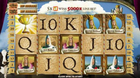Sjekk ut Monty Python's Spamalot på Winner Casino