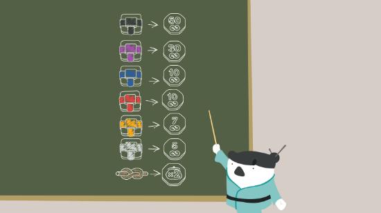 Spillerne legges i bakken med gratis spinn på Casumos karateskole