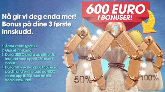 NorgesAutomaten skjemmer bort alle spillerne sine med bonuser og overraskelser