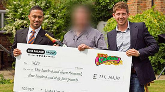 Spiller vant £ 111 000 på King Cashalot hos Spin Palace