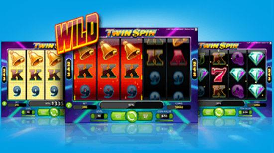 Få 100 gratis spinn for Twin Spin på Vera&John