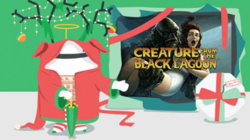 Få noen gratis spinn på Creature from the Black Lagoon på Casumo