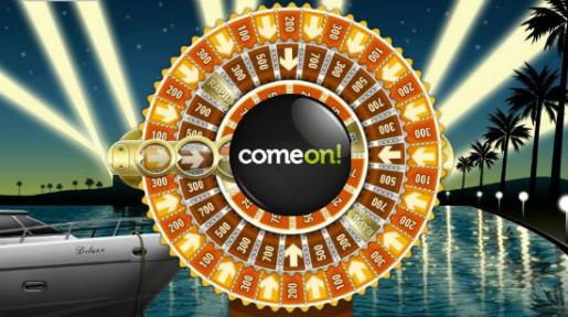 ComeOn gir deg 10 gratis spinn på Mega Fortune