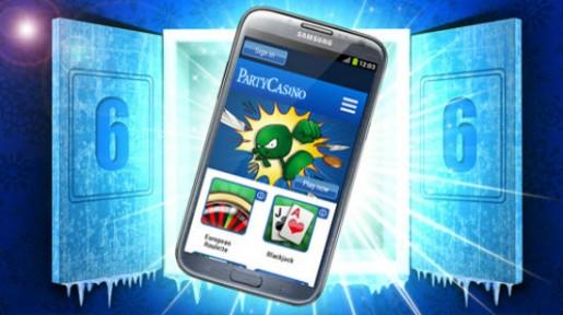 Vinn ny telefon hos Party Casino