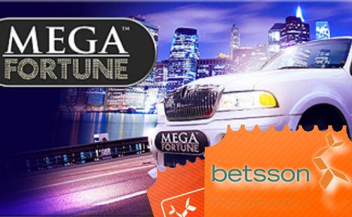 Betsson-spiller vinner € 2,5 millioner på Mega Fortune
