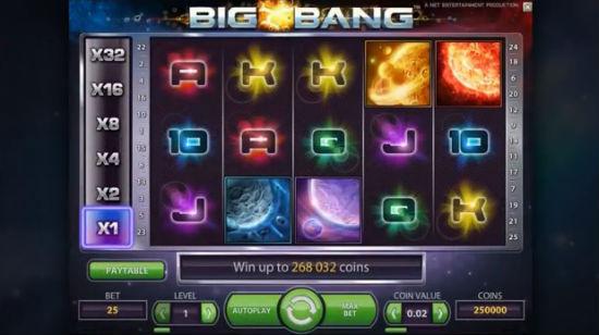 Big Bang og stor velkomstbonus fra Norskeautomater.com