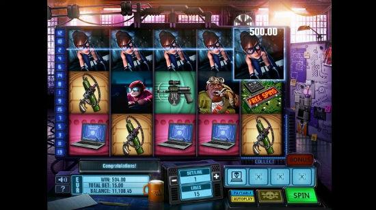 Tid for å plyndre et casino