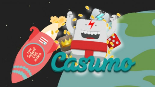 Casumo gir deg 50 gratis turer til verdensrommet!